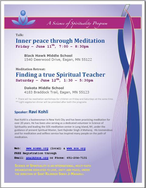 Retreat : Finding a True Spiritual Teacher
