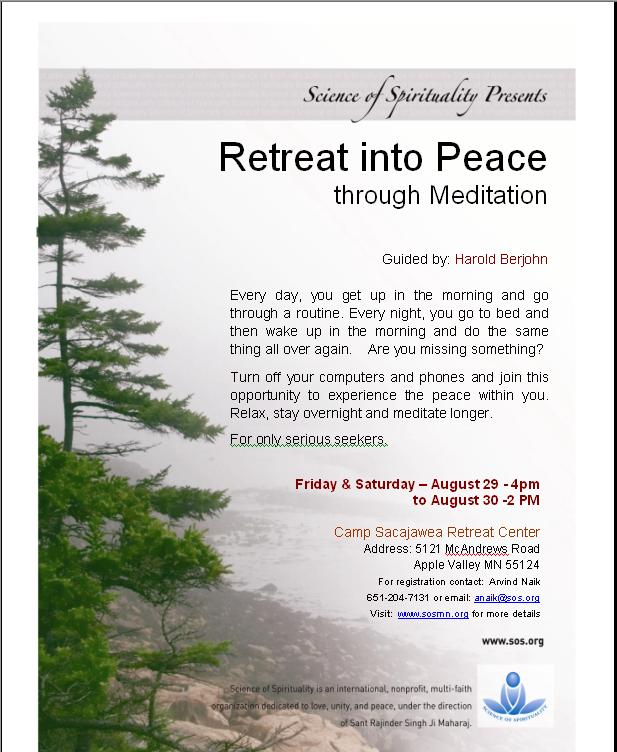 Retreat in Peace