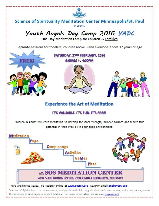 Youth Angels Day Camp